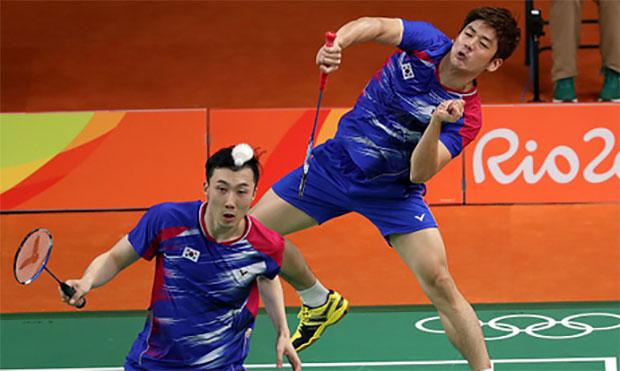 Rio may be Lee Yong-Dae/Yoo Yeon-Seong's last Olympics. (photo: AP)