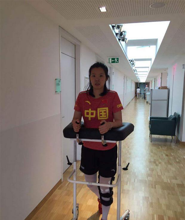 Wish Li Xuerui a speedy recovery.