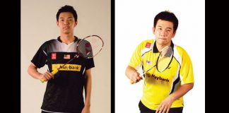 Chooi Kah Ming (left) and Low Juan Shen are doing well at the 2016 Indonesia Masters.