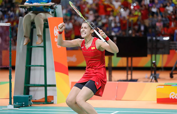Carolina Marin is the No. 1 seed at 2016 Korea Open Superseries. (photo: AFP)