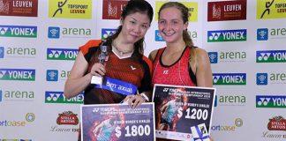 Congratulations to Soniia Cheah for winning the Belgian Open. (photo: Bernama)