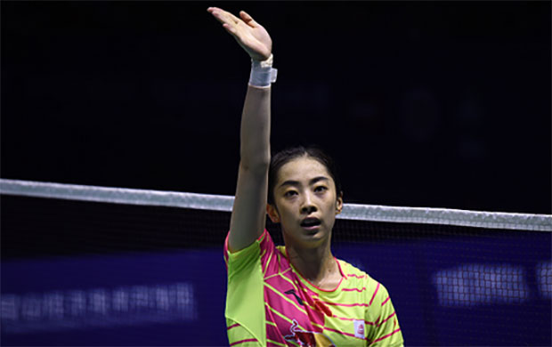 Goodbye and good luck to Wang Shixian. (photo: AP)