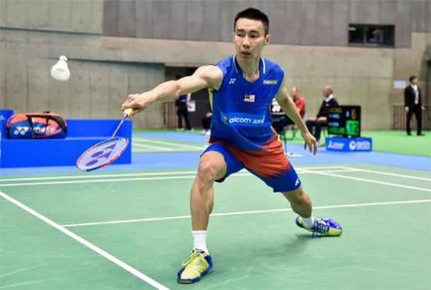 Lee Chong Wei is eyeing his 6th Japan Open title. (photo: AP)