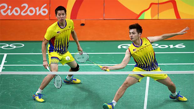 09 23 2016 badminton news goh v shem Goh V Shem/Tan Wee Kiong are out of the 2016 Japan Open. (photo: AFP)wee kiong