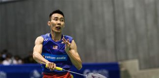 Lee Chong Wei is on course for his 6th Japan Open title. (photo: AFP)