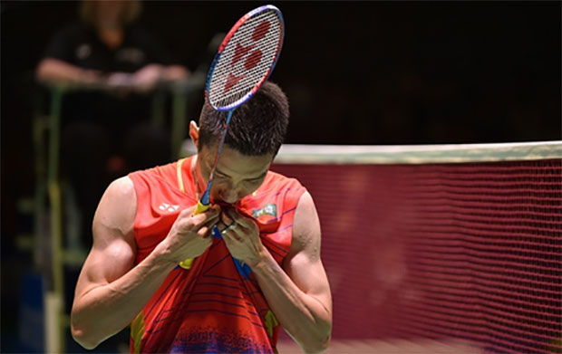 Lee Chong Wei pulls out from the 2016 Korea Open. (photo: AFP)