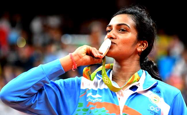 Congratulations to P.V. Sindhu for a well deserved deal. (photo: AP)