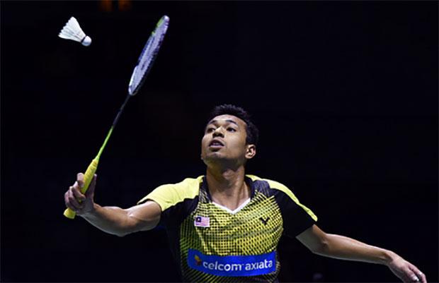 Iskandar Zulkarnain Zainuddin is the No. 2 men's singles player in Malaysia. (photo: AFP)