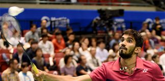 Kidambi Srikanth is having really poor form recently. (photo: AFP)