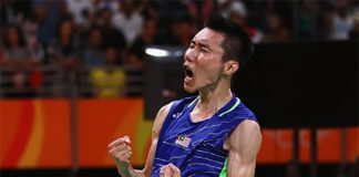 Hope Lee Chong Wei doesn't wear himself out with these tournaments. (photo: AP)