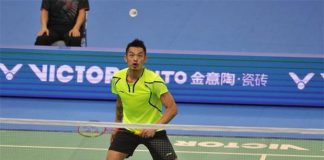 Lin Dan still very dominant on the badminton court.