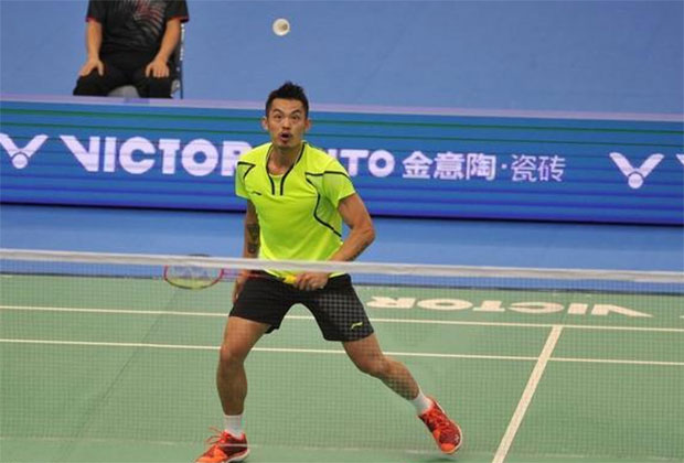 Lin Dan still very dominant on the badminton court.