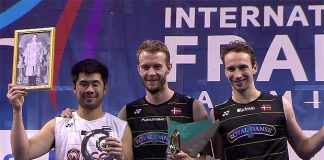 Congratulations to Mathias Boe/Carsten Mogensen for winning the 2016 French Open.