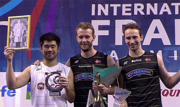 Congratulations to Mathias Boe/Carsten Mogensen for winning the 2016 French Open.