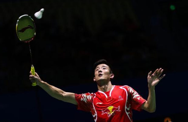 It's nice to see Chen Long start playing badminton again. (photo: AP)