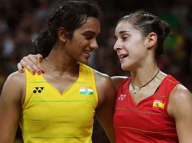 P.V. Sindhu faces possible Carolina Marin in the Hong Kong final. (photo: AP)
