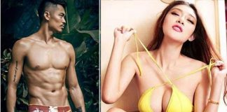 "To be honest, Lin Dan's ""girl friend"" Zhao Yaqi is crazy hot. (photo: Internet)"