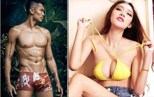 "To be honest, Lin Dan's ""girl friend"" Zhao Yaqi is crazy hot. (photo: Internet)"