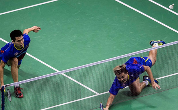 Ong Yew Sin/Teo Ee Yi are playing very well in their recent tournaments. (photo: AP)