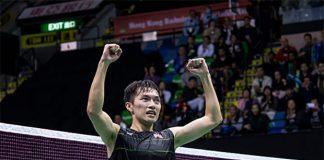 Angus Ng Ka-long celebrates winning the Hong Kong Open. (photo: AP)