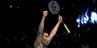 Lee Chong Wei could meet Chen Long again in the World Superseries Finals. (photo: AP)