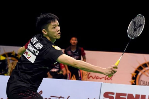 Daren Liew is showing some strong form at the 2016 Macau Open.