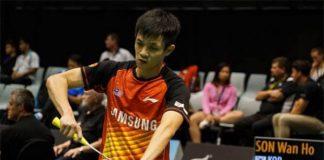 Daren Liew faces an uphill battle to break Son Wan Ho in the 2016 Korea Masters final.