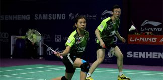 Goh Liu Ying/Yoo Yeon Seong are a very strong mixed doubles pair. (photo: Purple League)