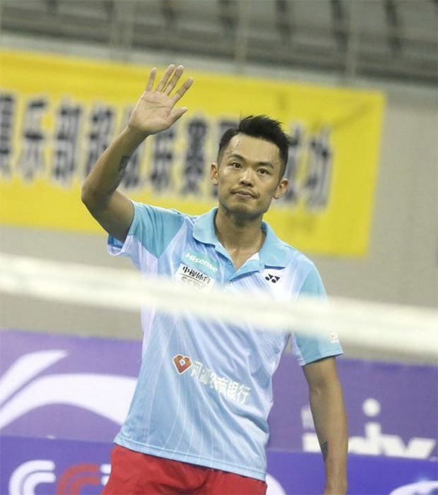 Lin Dan still one of the best badminton players in the world.