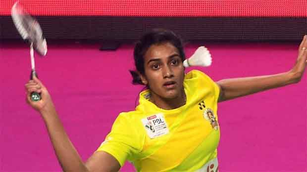 P.V. Sindhu is getting better playing under pressure. (photo: PTI)