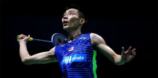 Lee Chong Wei hangs onto No. 1 at BWF ranking. (photo: AP)