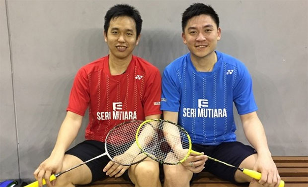 Hendra Setiawan/Tan Boon Heong need to be more proactive in order to remain competitive with other men's doubles pair. (photo: Tan Boon Heong's Facebook)
