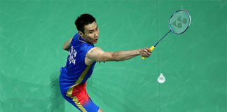 Lee Chong Wei's return to active badminton should be taken slowly and carefully. (photo: AP)