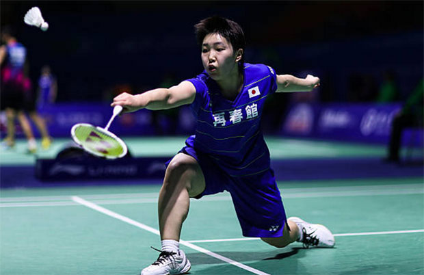It's tough to beat Akane Yamaguchi. (photo: AP)