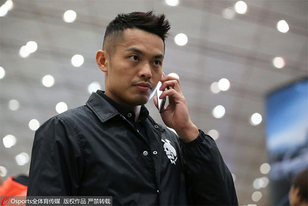 Lin Dan departs on Saturday for 2017 German Open. (photo: OSsports)