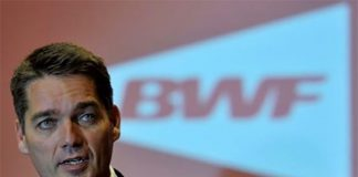 Congratulations to Poul-Erik Hoyer Larsen on his re-election as President of BWF. (photo: AP)