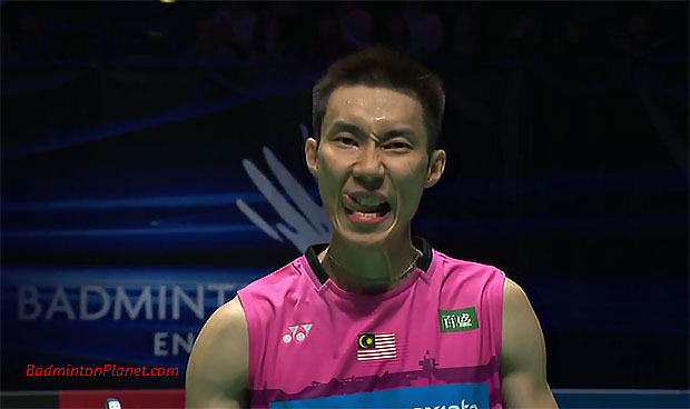 Lee Chong Wei advances to the 2017 All England final. (photo: AFP)