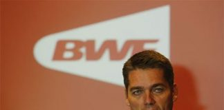 BWF president Poul-Erik Hoyer Larsen works very hard to boost the popularity of badminton. (photo: BWF)
