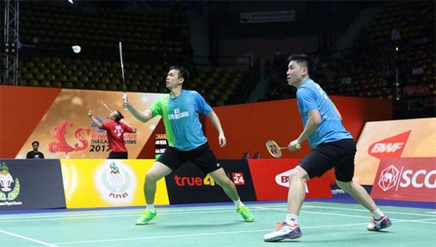 Hendra Setiawan and Tan Boon Heong. (photo: AFP)