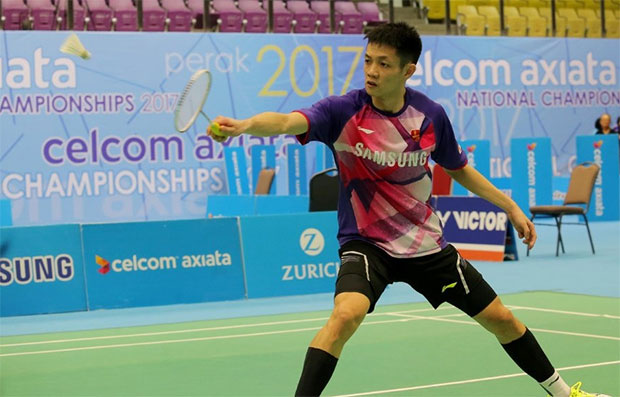 Daren Liew is going to have a tough fight against Viktor Axelsen in the Malaysia Open opener. (photo: Abdullah Yusof)