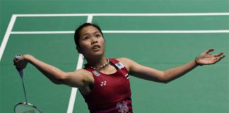 Ratchanok Intanon to meet Carolina Marin in in Malaysia Open quarter-finals. (photo: AP)