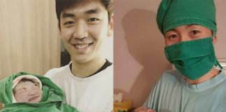 Congratulations to Lee Yong-dae & his wife on their new baby!! (photo: Facebook)