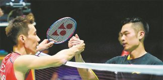 Hope to see another epic battle between Lee Chong Wei and Lin Dan in Wuhan.