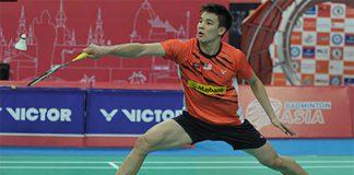 Good luck to Soo Teck Zhi in the Thailand International Challenge semi-finals.