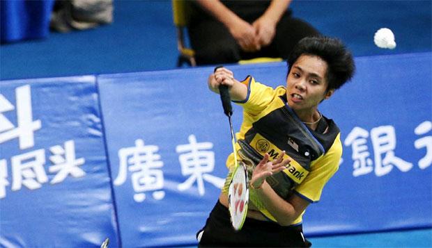 Malaysian women's doubles shuttler Soong Fie Cho comes back even stronger after a long break. (photo: AP)
