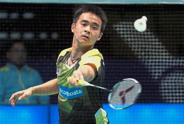 Soong Joo Ven continues his strong form at the Thailand Open Grand Prix Gold. (photo: AP)