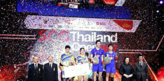 Goh Soon Huat/Shevon Jemie Lai finish in second place at the Thailand GPG.