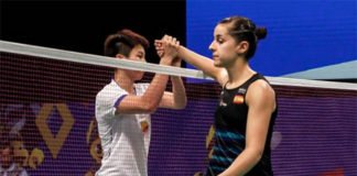 Carolina Marin suffers early exit at the 2017 Indonesia Open. (photo: AP)