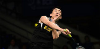 Lee Chong Wei exits Indonesia Open to unseeded HS Prannoy. (photo: AP)