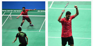 HS Prannoy on strong run at Indonesia Open. (photo: AP)